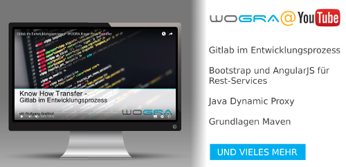WOGRA @ YouTube - Softwareentwicklung in der Praxis