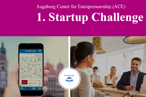 DealRanger Startup Challenge Uni Augsburg ACE Digital two